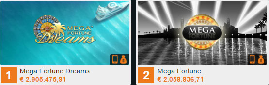 gokkasten Mega Fortune Dreams